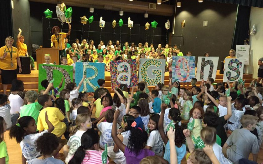 Douglas Elementary celebrates being named the number one magnet school in the country