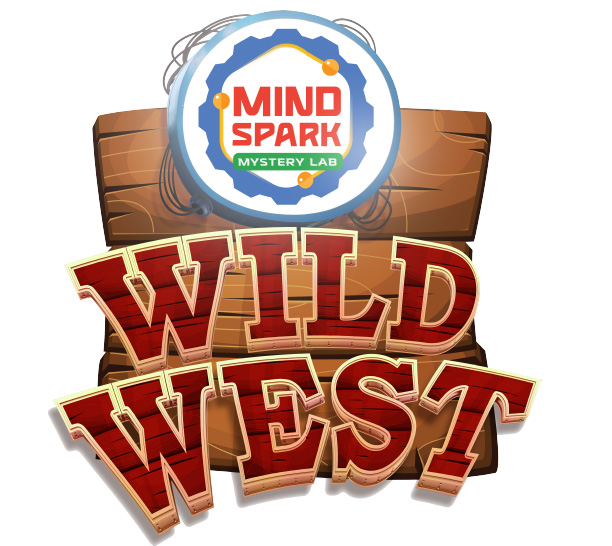 Mindspark Mystery Lab Wild West logo