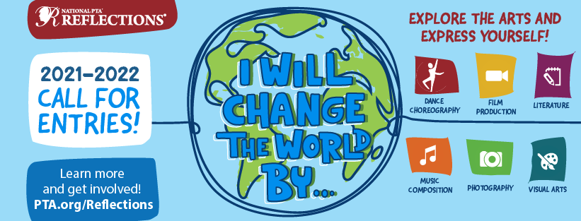 PTA Reflections 2021 logo